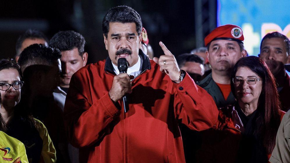 Foto: El presidente de Venezuela, Nicolás Maduro, celebra los resultados de la Constituyente. (EFE)