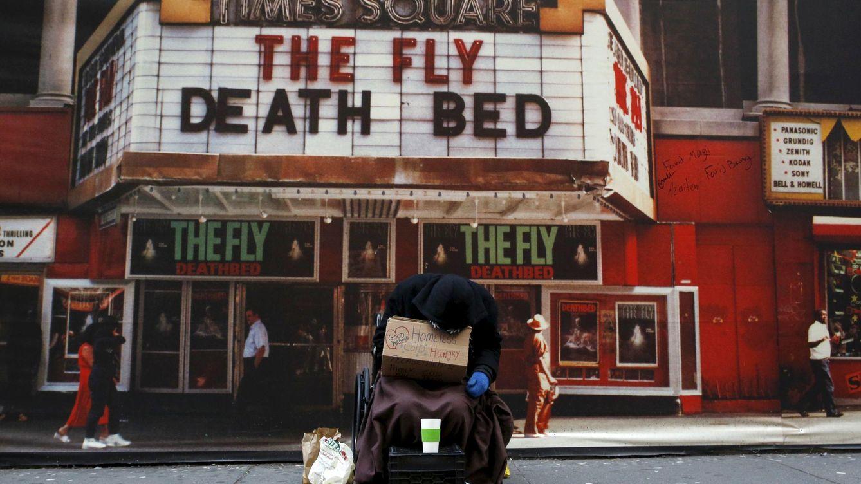 Foto: Un 'sin techo' en Times Square, Nueva York, el 3 de marzo de 2016 (Reuters)