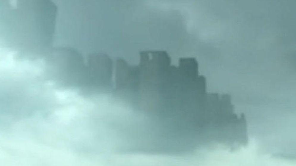 Foto: La 'ciudad fantasma' que ha podido verse en China (Captura de YouTube)
