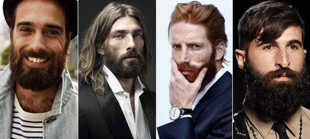 Foto: Celebrities y modelos se han sumado a la moda de llevar barba.