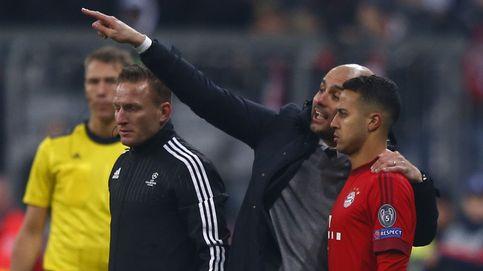La conexión Pep-Pere Guardiola acerca a Thiago al Manchester City