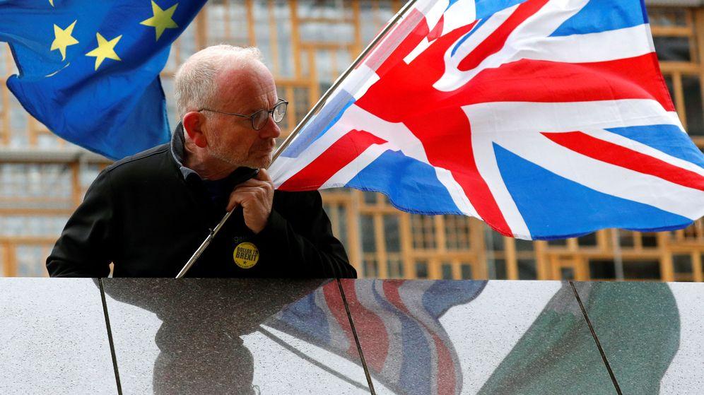 Foto: Un manifestante pro UE. (Reuters)