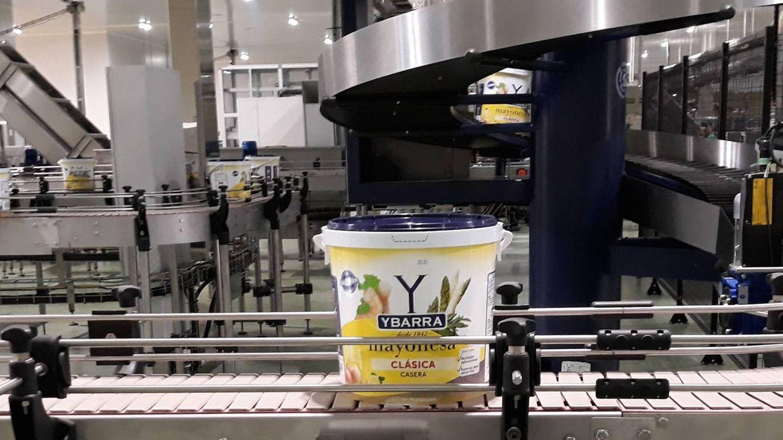 Nueva fábrica de mayonesa de Ybarra. (CP)