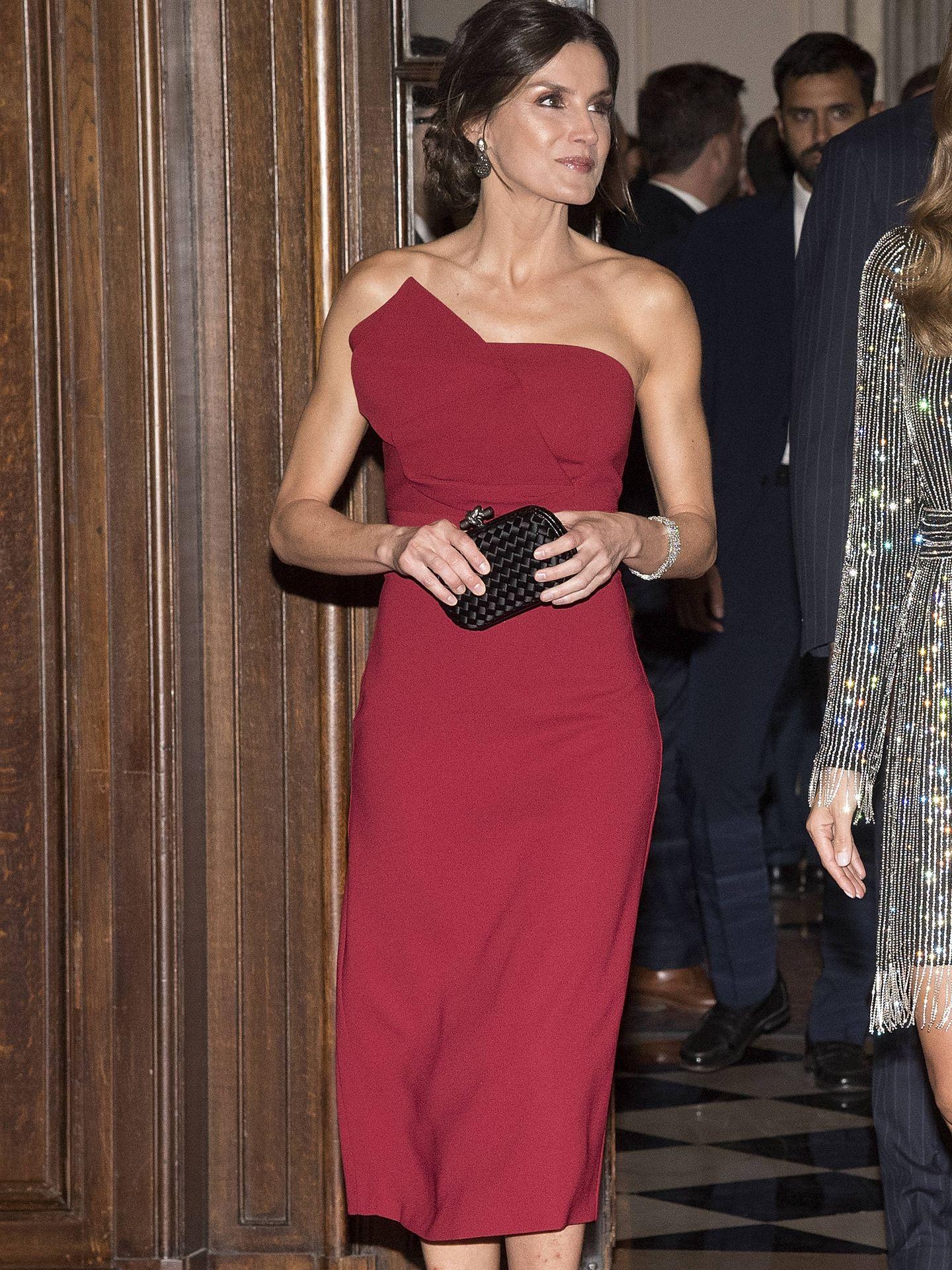 La reina Letizia, en Argentina. (EFE)