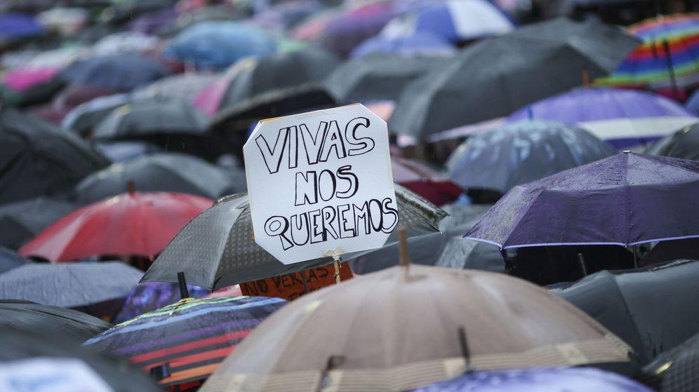 Foto: Foto de archivo de una manifestación contra la violencia de género. (EFE)