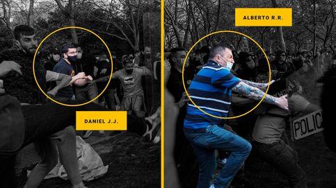 La Policía detiene a dos escoltas de Iglesias por agredir a agentes en el mitin de Vox en Vallecas