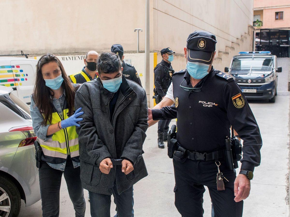 Foto: El hombre confesó el crimen en la reconstrucción de los hechos. Foto: Efe