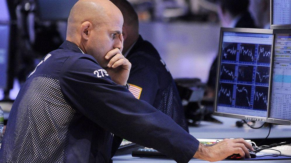 Foto: Imagen de un 'trader' en Wall Street. (EFE)