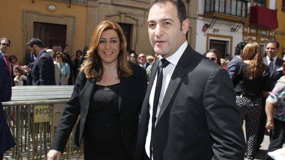 El marido de Susana Díaz, amenazado por el ERE de la empresa en la que trabaja
