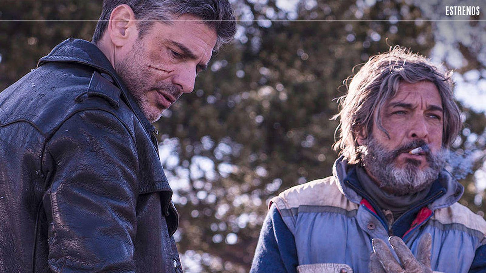 Foto: Leonardo Sbaraglia y Ricardo Darín protagonizan 'Nieve negra'.