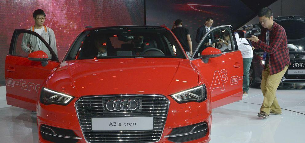 Exposición de vehículos en la provincia china de Guangdong. (Reuters)