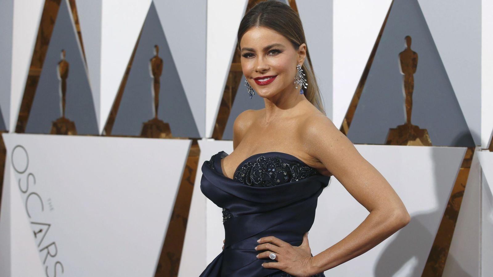 Foto: Sofía Vergara en la alfombra roja de los Premios Oscar