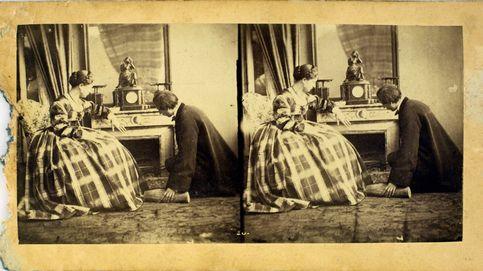 'Se va mi sombra pero yo me quedo', la fotografía del Romanticismo