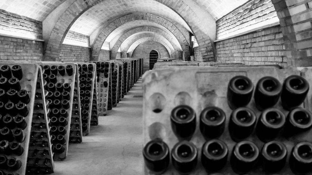 Foto: Las cavas o cuevas que dieron nombre al champán español. (iStock)