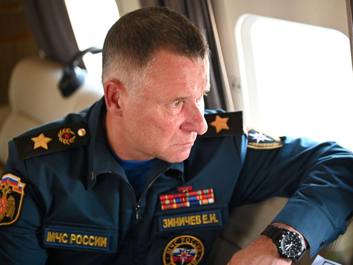 Foto: El ministro de Emergencias ruso, Yevgeny Zinichev. (Reuters)