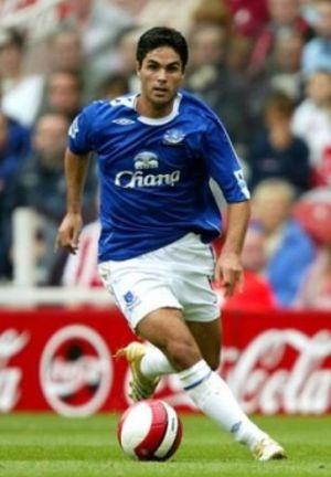 Mikel Arteta, nombrado jugador del año del noroeste de Inglaterra