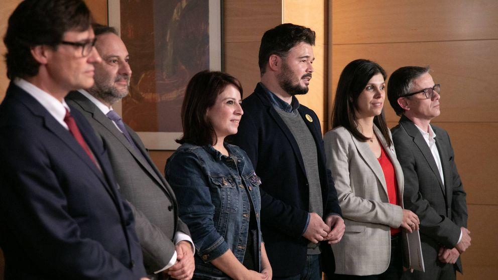 PSOE y ERC se reúnen en secreto en Barcelona antes de la cita de este martes