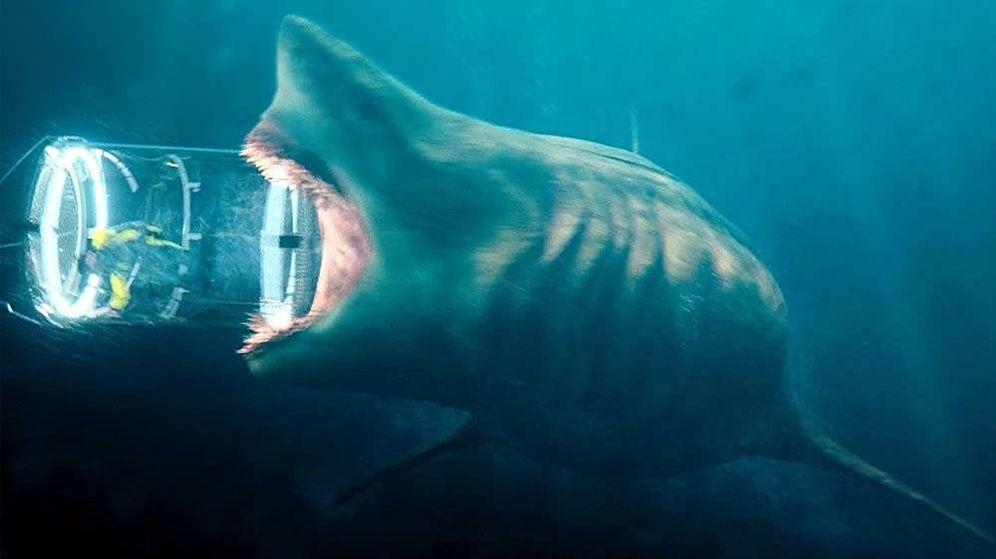 Foto: Fotograma de la película 'Megalodón'. Foto: Warner Bros