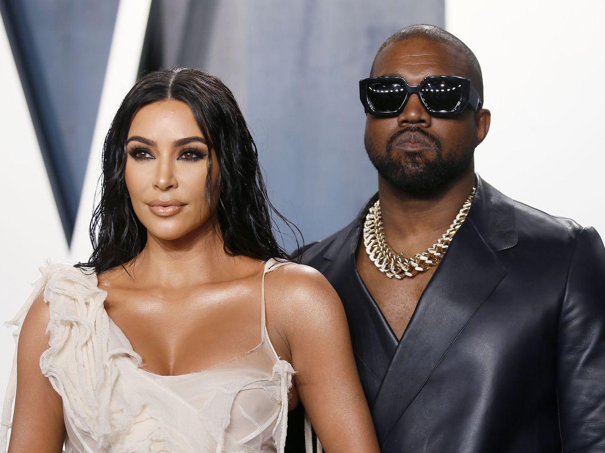 Foto: Kim Kardashian y Kanye West. (Reuters)