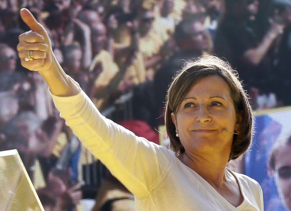 Foto: Carme Forcadell en un mitin independentista. (Foto: Reuters)