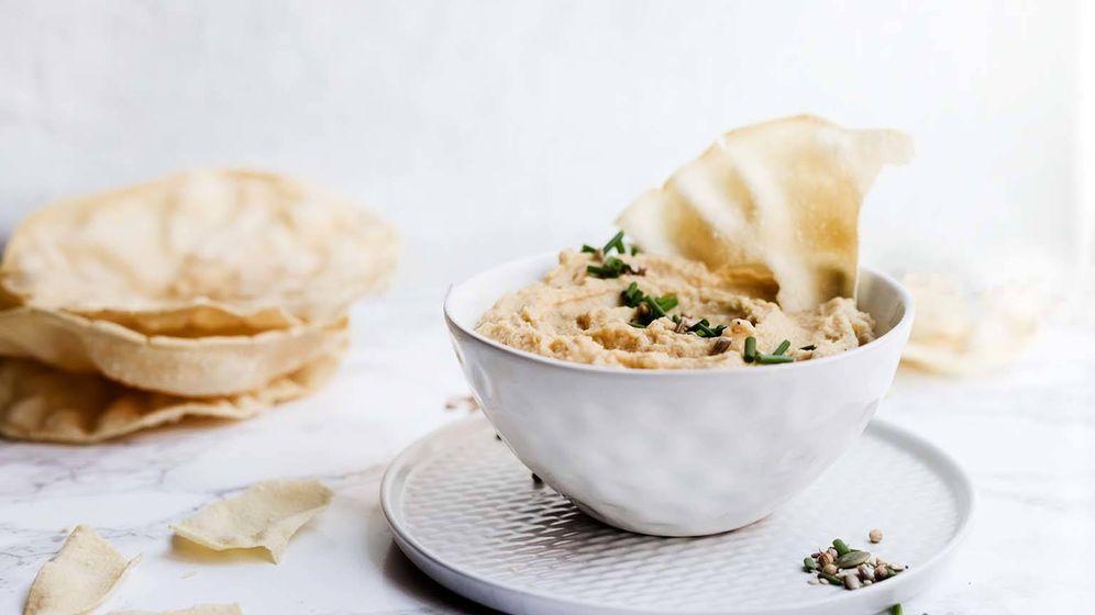 Foto: Hummus tradicional. (Imagen: Snaps Fotografía)