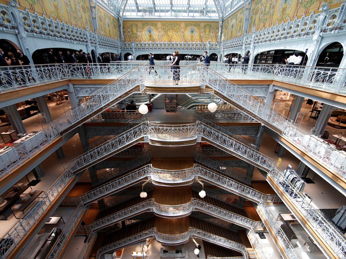 Foto: El interior de los grandes almacenes. (Reuters)
