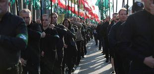 Post de Detrás del tuit de Vox: un grupo antisemita y antisistema polaco inspirado en la Falange