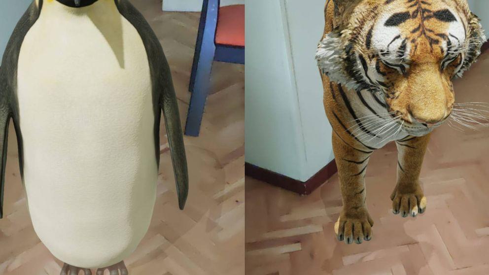 Cómo usar el truco de Google para ver un tigre y otros animales en 3D con tu cámara
