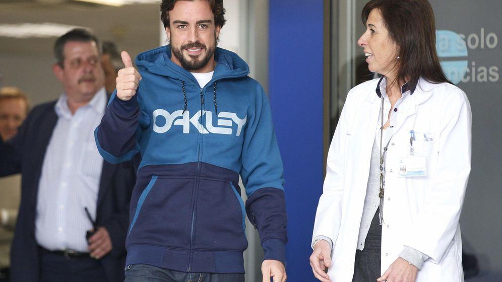 Foto: Fernando Alonso se entrena físicamente para estar en el GP de Australia (EFE)