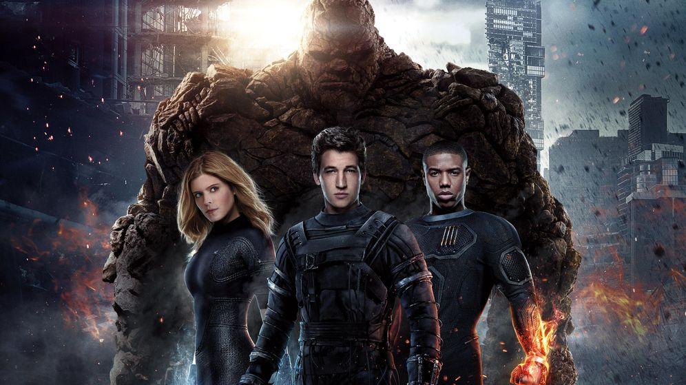 Foto: Los cuatro fantásticos contra los superhéroes