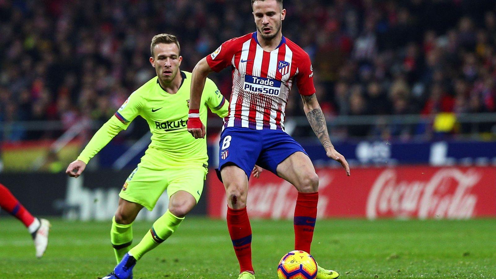 Foto: Saúl tiene contrato con el Atlético de Madrid hasta 2026. (EFE)