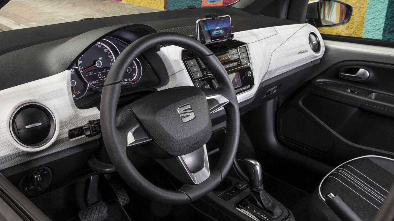 Interior moderno y personalizable en el Mii electric.
