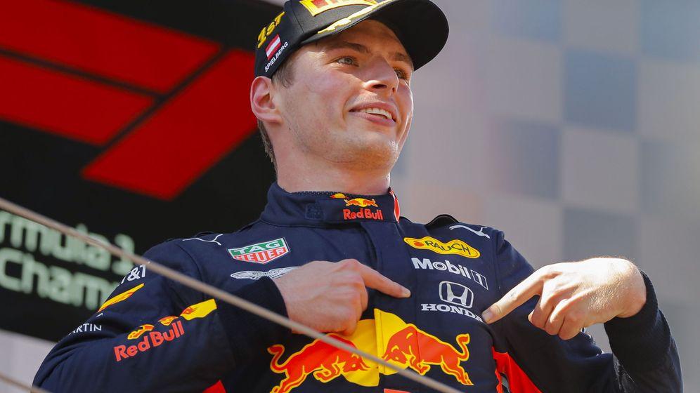 Foto: Verstappen señala a Honda en su primer triunfo esta temporada. (EFE)