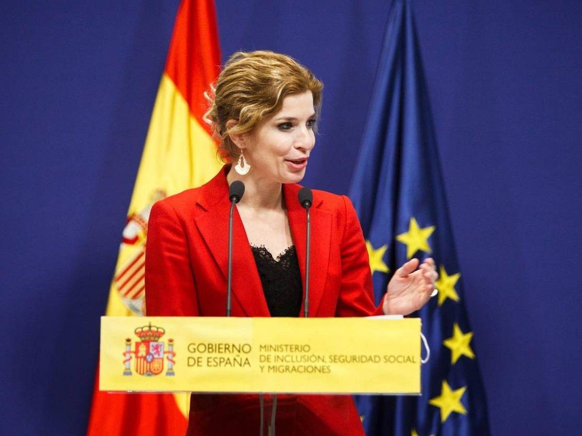 Foto: La secretaria de Estado de Migraciones, Hana Jalloul. (EFE)