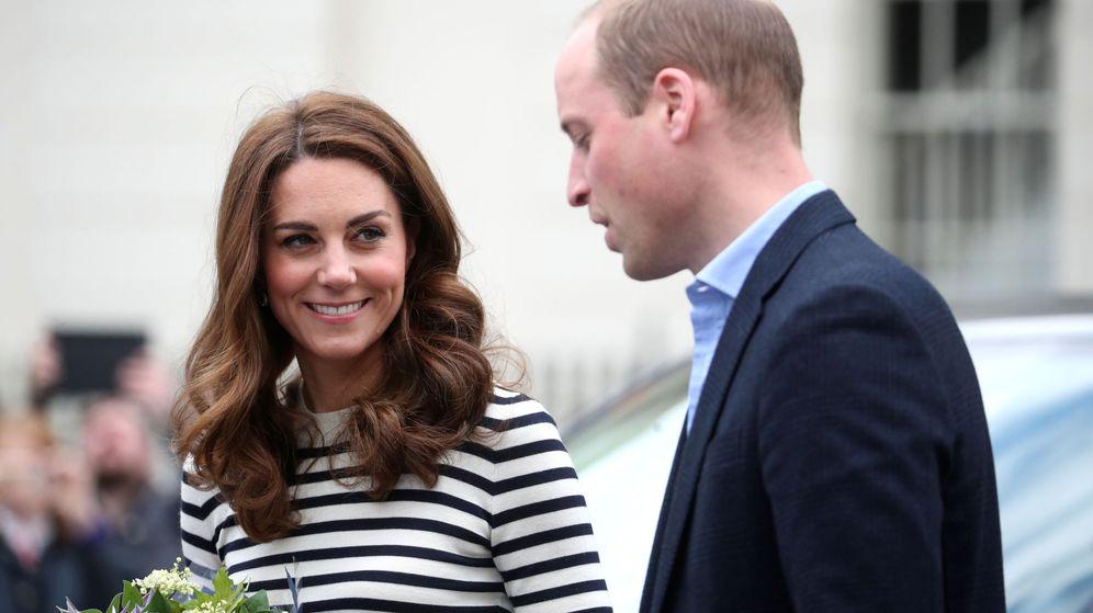 Foto: Los duques de Cambridge durante el acto. (Reuters)