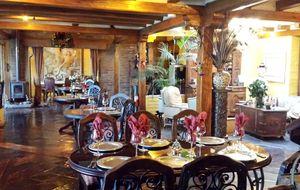 Hacienda Rumiloma, una cena espectacular bajo un volcán