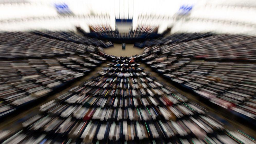 Foto: Sesión del Parlamento Europeo en Estrasburgo. (EFE)