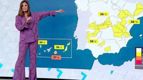 Mercedes Martín, la mujer del tiempo de Antena 3, viral por salir en pijama