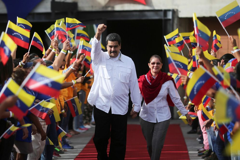 Foto: El presidente de Venezuela, Nicolás Maduro, a su llegada a un evento en el Palacio de Miraflores. (Reuters)