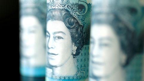 La libra cae a mínimos de noviembre tras el frenazo de UK y ante un recorte de tipos