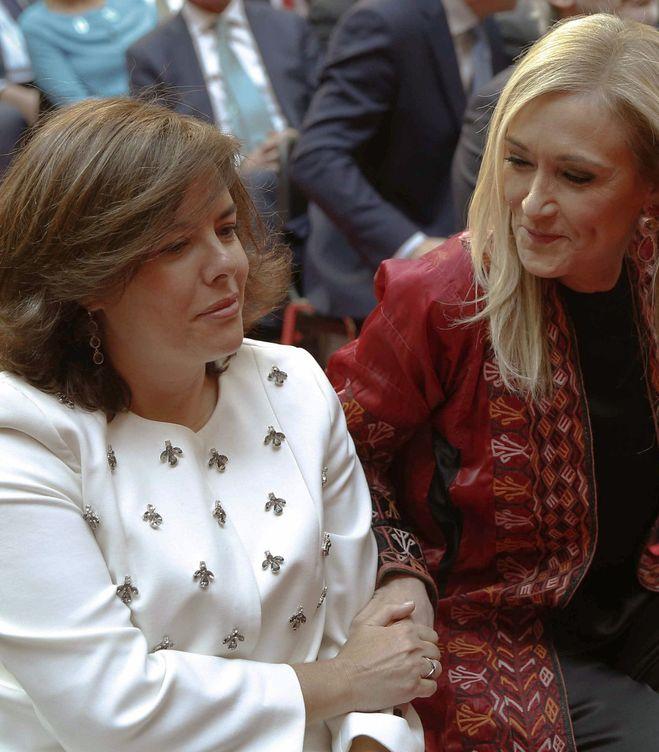 Cristina y Soraya. (Efe)