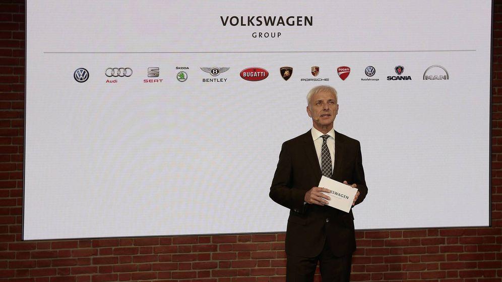 Foto: Mattias Muller presidente del grupo Volkswagen