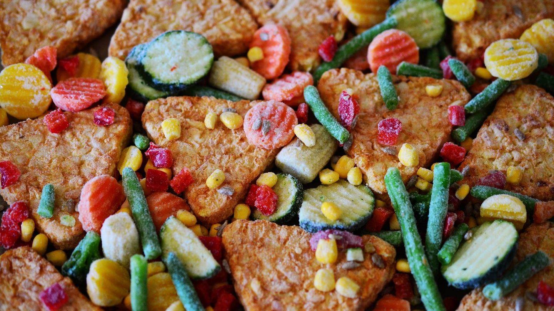 Las diferencias de propiedades nutricionales entre las verduras frescas y las congeladas son prácticamente insignificantes.