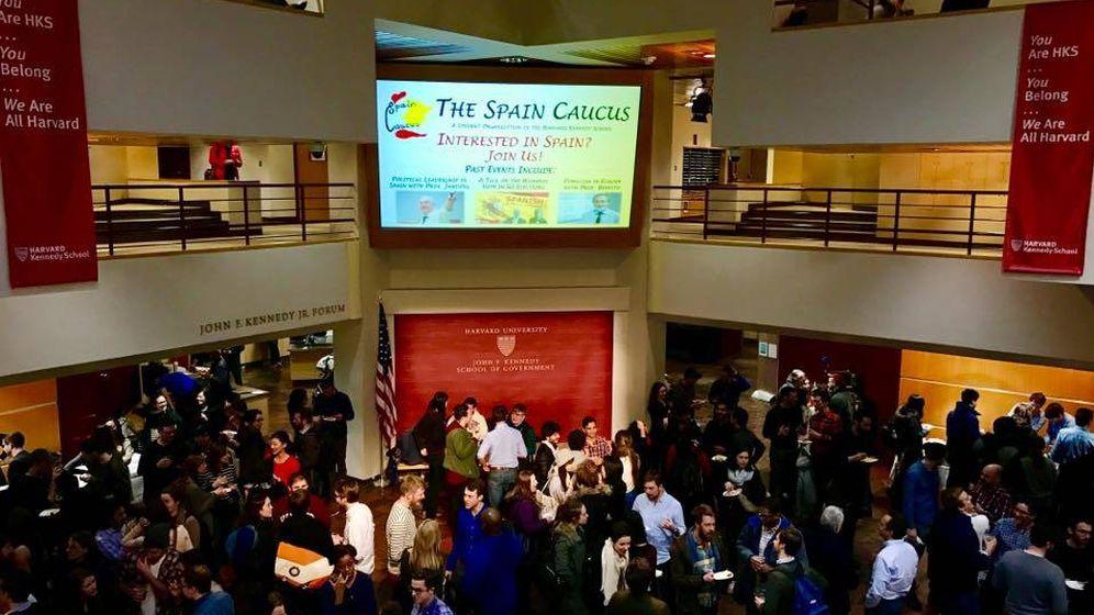 Foto: Acto de presentación del Spain Caucus celebrado el pasado octubre.