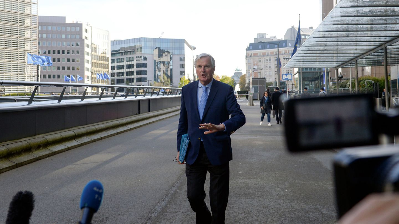 Michel Brnier, negociador jefe de la Comisión Europea para el Brexit. (Reuters)