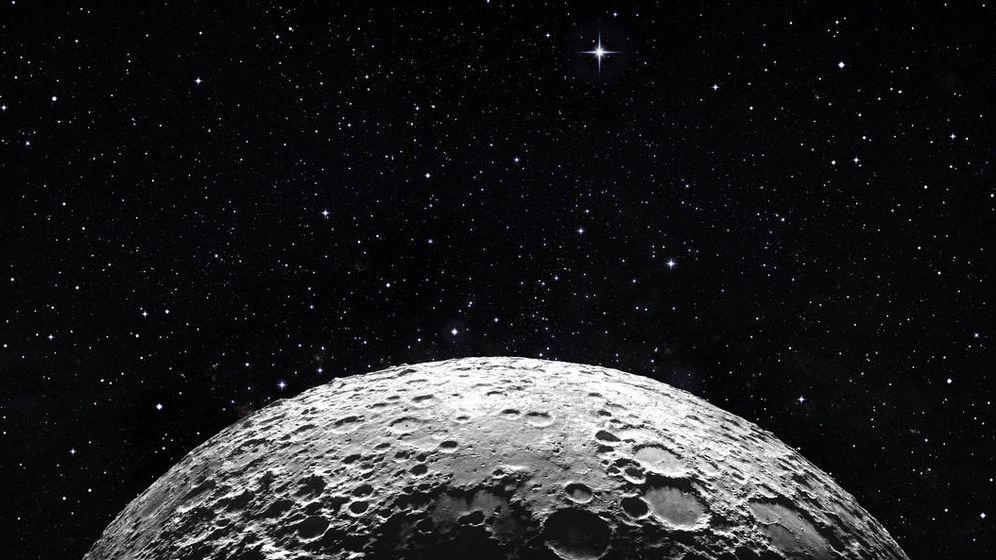 Foto: La Luna, en una vista muy Kubrick. (iStock)