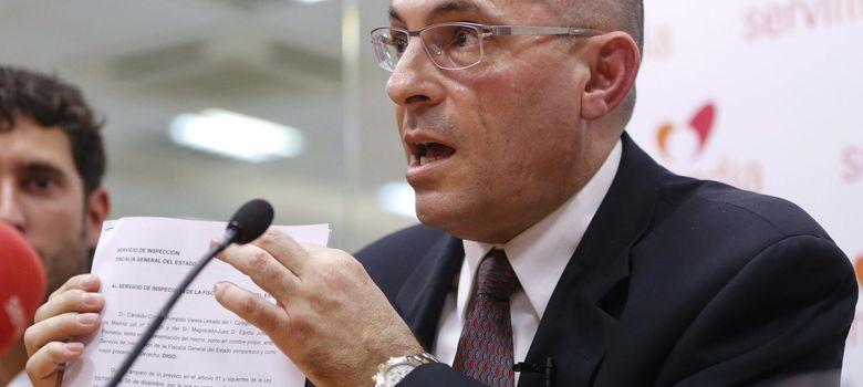 Foto: El juez Elpidio José Silva Pacheco durante una rueda de prensa. (EFE)