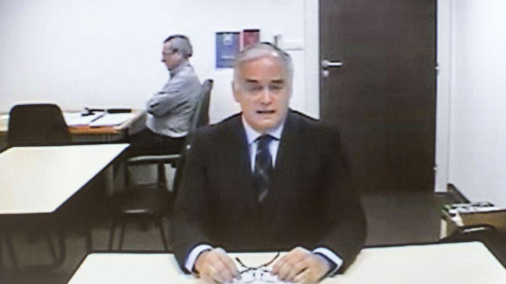 Foto: El eurodiputado del PP y exconseller de Presidencia valenciano, Esteban González Pons, durante su declaración por videoconferencia (Efe)