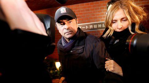 La Fiscalía de Japón ordena el arresto de la mujer de Ghosn mientras él sigue huido
