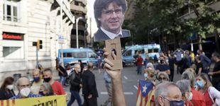 Post de Aragonès abraza la estrategia de JxCAT y viaja a Cerdeña para apoyar a Puigdemont